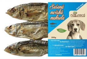 NATURECA Sušená morská makrela 200g