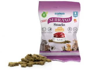 SERRANO  SNACKS FOR CATS – LIVER