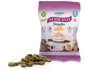 SERRANO SNACKS FOR CATS – CHICKEN