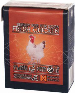 Non-stop Dogwear Energy Paté – Kurča 375 g