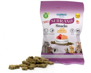 SERRANO SNACKS FOR CATS – SALMON & TUNA