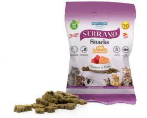 SERRANO SNACKS FOR CATS – SALMON & TUNA