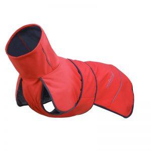 Teplé oblečenie pre psa Rukka Windy Červené