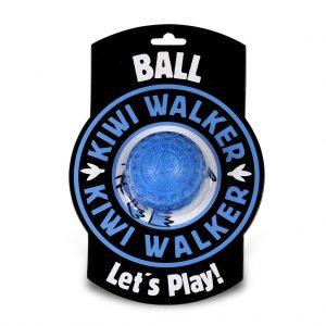 KIWI Hračka lopta modrá