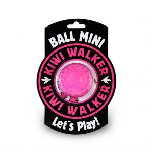 KIWI Hračka lopta mini ružová