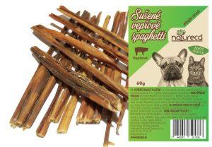 NATURECA Bravčové spaghetti sušené 60 gr