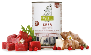 ISEGRIM Adult Forest: Jeleň s topinamburmi, brusnicami a bylinkami
