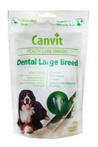 Canvit Health Care dog Dental Snack Large Breed 250 g