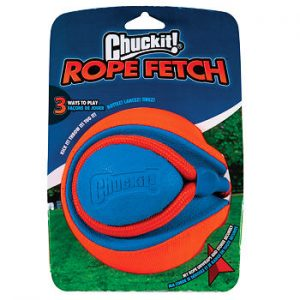 Chuckit! Loptička Rope Fetch 13 cm