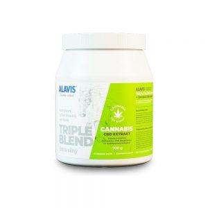 ALAVIS Triple Blend Extra Silný + Cannabis CBD Extrakt pre kone plv. 700 g