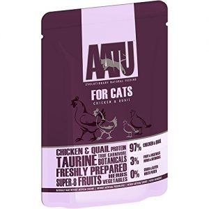 Aatu Cat Chicken & Quail 85g