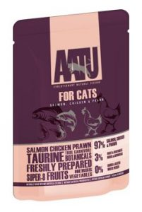 Aatu Cat Salmon & Chicken & Prawn 85g