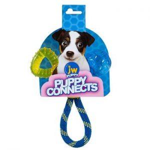 JW Hračka pre šteňatá 3 v 1 Puppy Connects