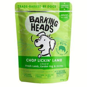 BARKING HEADS Chop Lickin' Lamb kapsička 300g