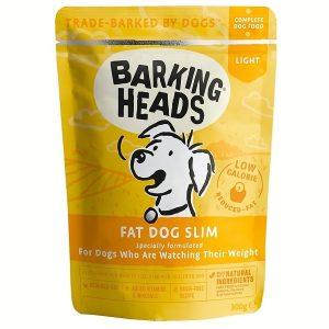 BARKING HEADS Fat Dog Slim kapsička NEW 300g