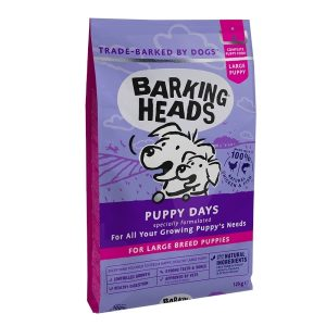 BARKING HEADS Puppy Days NEW (Large Breed) 12kg