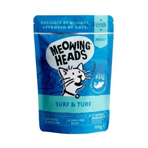 MEOWING HEADS Surf & Turf kapsička 100g