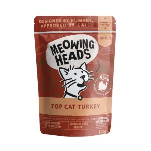 MEOWING HEADS Top Cat Turkey kapsička 100g