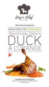 DOG'S CHEF Traditional French Duck a l'Orange ACTIVE DOGS