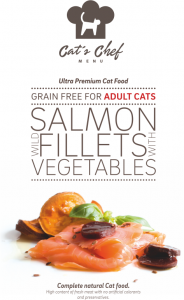 CAT'S CHEF Wild Salmon fillets with Vegetables Adult Cats