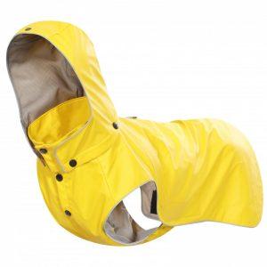 Pršiplášť pre psa RUKKA STREAM žltý