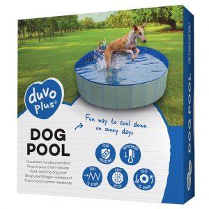 Bazén DUVO+ pre psy modrý , Ø120x30cm