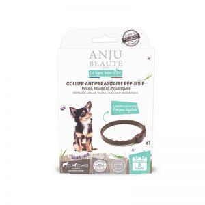ANJU BEAUTÉ Antiparazitný obojok proti kliešťom pre malé psy do 10 kg