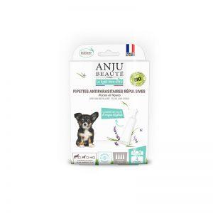 ANJU BEAUTÉ Antiparazitná SPOT-ON pipeta proti kliešťom pre šteňatá 3ks/ bal