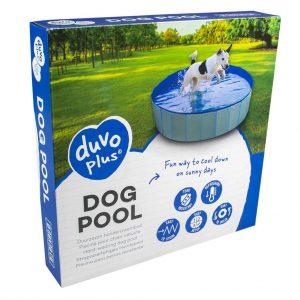 Bazén DUVO+ pre psy modrý,  Ø80x30cm
