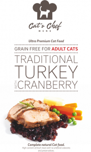 CAT'S CHEF Traditional Turkey with Cranberry Adult Cats