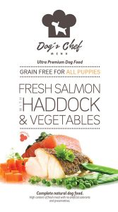 DOG'S CHEF Fresh Salmon with Haddock & Vegetables for ALL PUPPIES