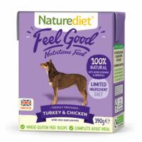 NATURE DIET Feel good Turkey & Chicken 390 g