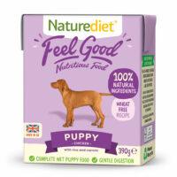 NATURE DIET Feel good Chicken PUPPY 390 g