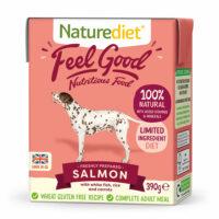 NATURE DIET Feel good Salmon 390 g