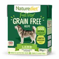 NATURE DIET Feel good GRAIN FREE Lamb 390 g