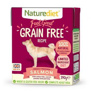 NATURE DIET Feel good GRAIN FREE Salmon 390 g