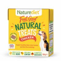 NATURE DIET Feel Good Natural Dog Treats Chicken 150g